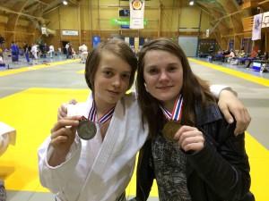 Sølv til Morten i U15 og bronsje til Annie i U18 under helgas åpne Trønderskemesterskap i Levanger